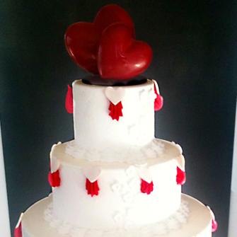 Wedding cake à déguster