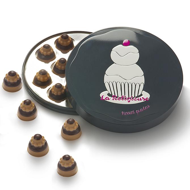 mini religieuses chocolat
