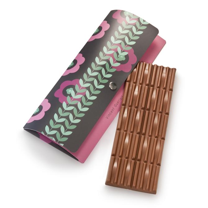 Tablette de chocolat au lait et praliné feuilletine