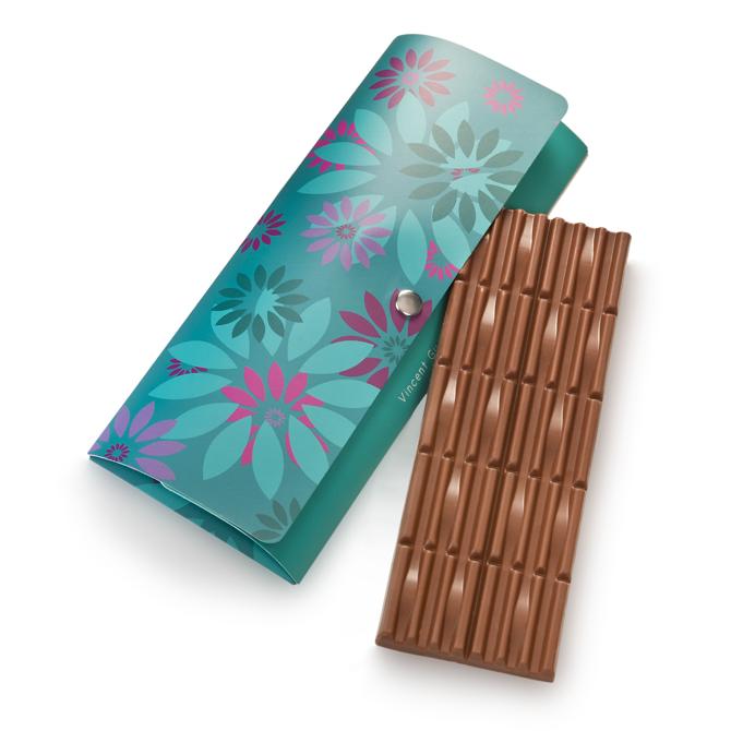 Tablette de chocolat au lait 40% de cacao