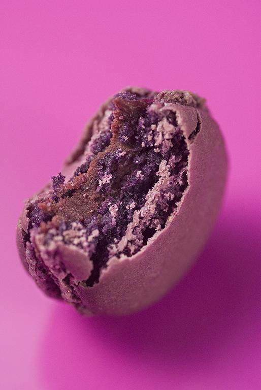 Macaron unité - Passion vanille