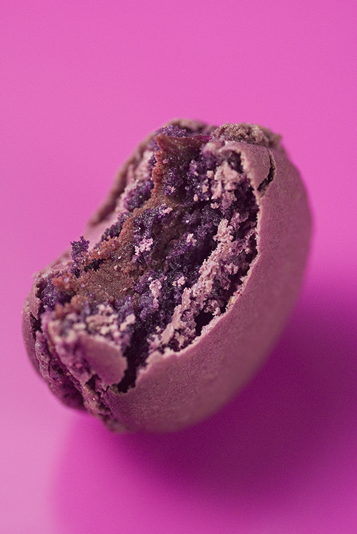 Macaron unité - Menthe chocolat