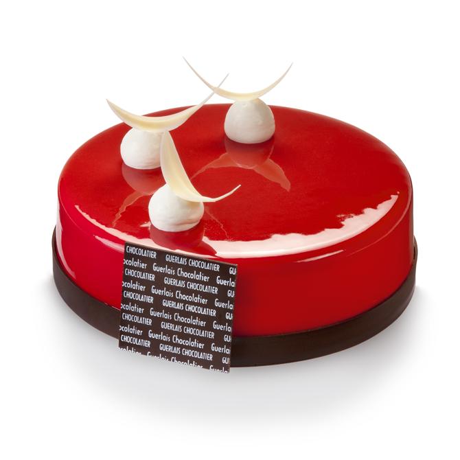 Crémeux yaourt et fraises des bois