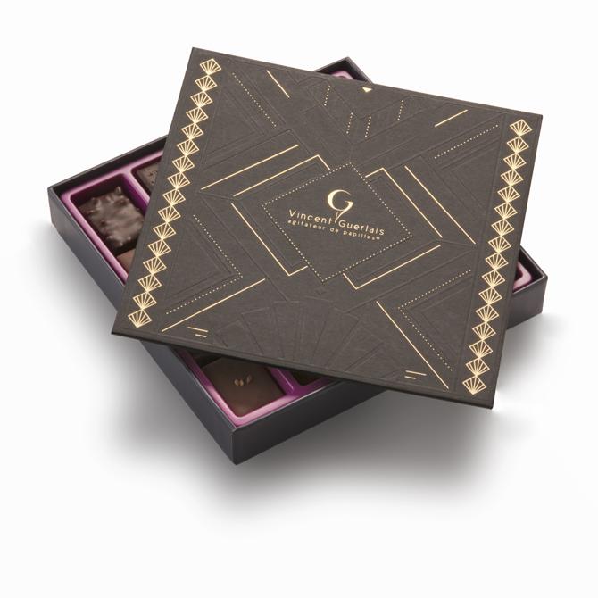Coffret de chocolat - Années Folles