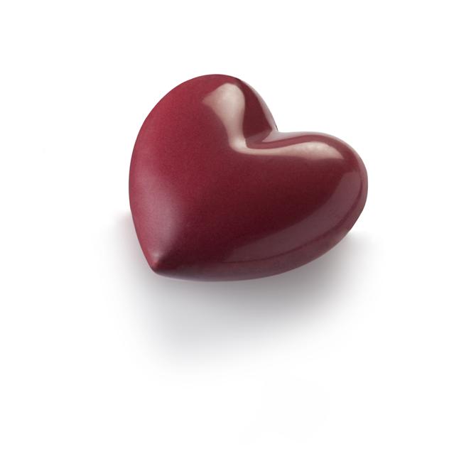 Bonbonnière Coeur-Chocolat Noir