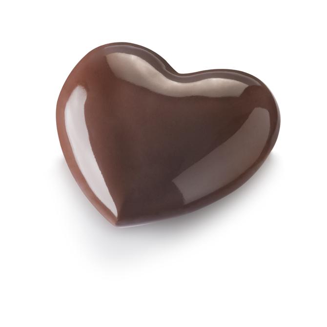 Bonbonnière Coeur-Chocolat au lait
