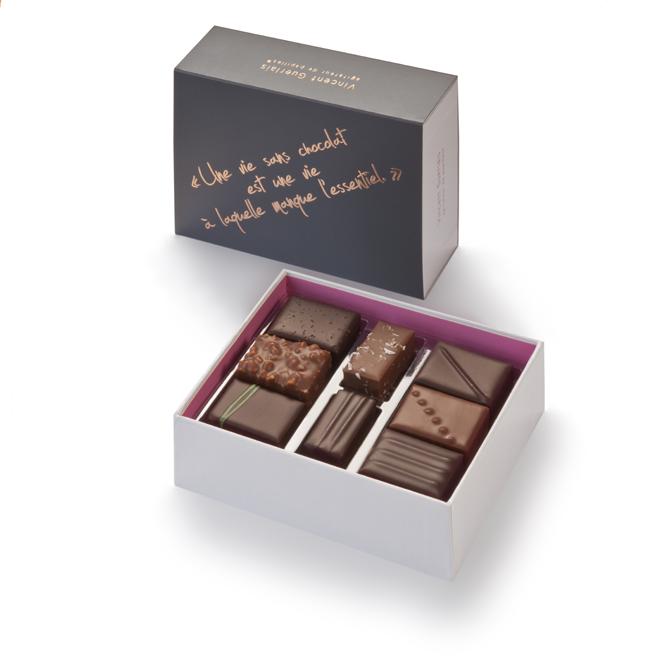 Ballotin 16 chocolats-Assortiment
