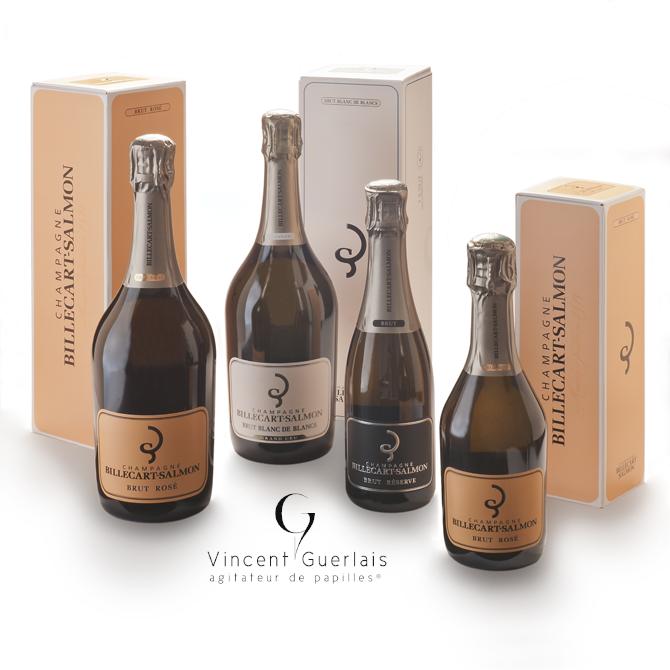 Champagne Billecart Salmon et Vincent Guerlais